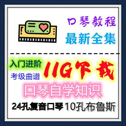 11G口琴全套培训学习视频+电子书教程百度网盘资源合集